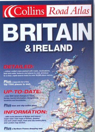 9780007618477: Collins Road Atlas 2001 Britain and Ireland