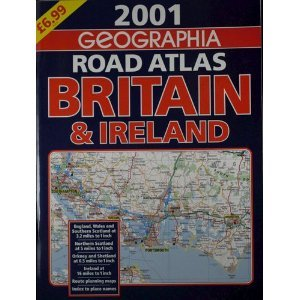 9780007621088: GEOGRAPHIA ROAD ATLAS UK BRITAIN & IRELAND