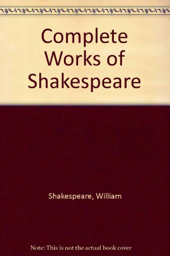 9780007632541: Complete Works of Shakespeare