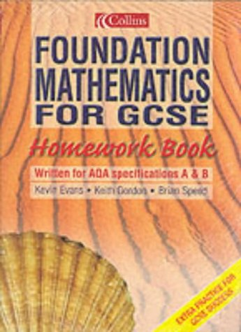 9780007632824: Foundation Maths (Pk10) GCSE H/Work