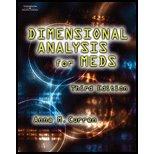 9780007642069: Dimensional Analysis for Meds