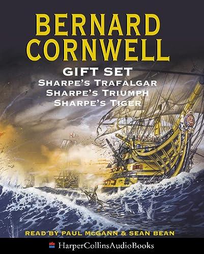 9780007643462: Bernard Cornwell Gift Set: Sharpe's Trafalgar; Sharpe's Triumph; Sharpe's Tiger