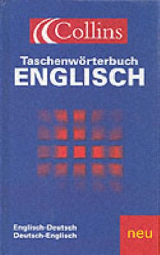 9780007643776: Xgerman/English Taschenwbuch