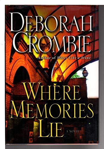 9780007646388: Where Memories Lie