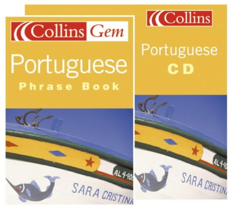 9780007650965: Portuguese Phrase Book CD Pack (Collins Gem) (Portuguese and English Edition)