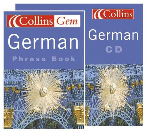 9780007650996: German Phrase Book CD Pack (Collins Gem) (German and English Edition)