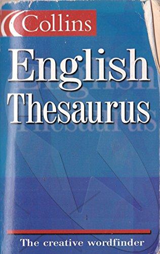 9780007651313: Xcollins Eng Thesaurus Webbs
