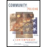 9780007659098: Community Policing: A Contemporary Perspective-TEXT ONLY