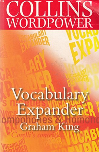 9780007659883: Vocabulary Expander (Collins wordpower)
