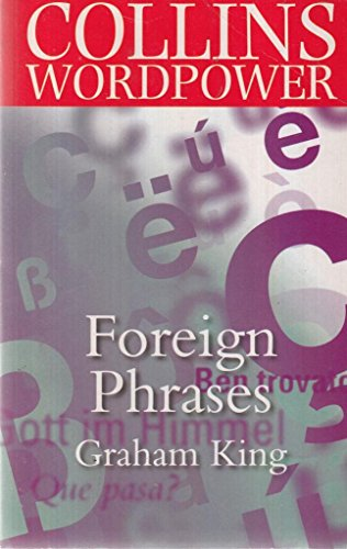 9780007659982: Xforeign Phrases Book People