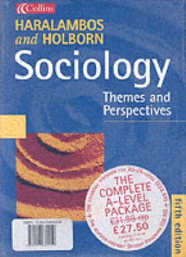 9780007660452: Sociology Themes and Perspectives: Textbook & Handbook Pack