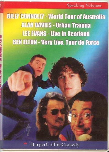 9780007686858: Billy Connolly - World Tour of Australia, Alan Davies - Urban Trauma, Lee Evans- Live in Scotland, Ben Elton - Very Live Tour de Force (Speaking Volumes)