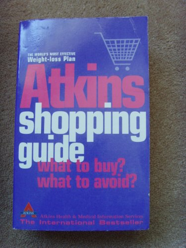 9780007705498: Atkins Shopping Guide