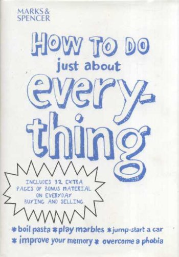 Xhow to Do Just About Everthin: unknown