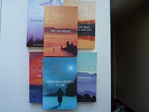 9780007735235: Paulo Coelho Collection five books. Alchemist, By the River Piedra I sat and Wept, the Valkyries, The Pilgrimage and Veronika Decides to Die.
