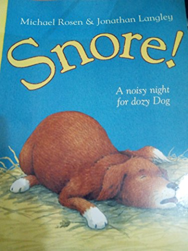 9780007735860: Snore