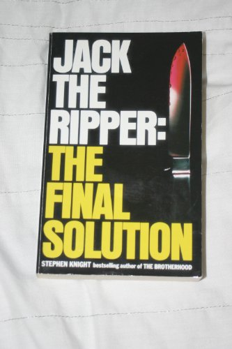 9780007749195: Jack The Ripper : The Final Solution