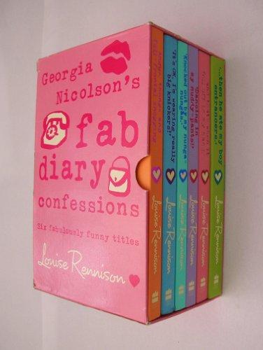 9780007769926: Georgia Nicolson's fab diary confessions box set