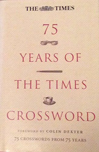9780007773497: 75 Years of the Times Crossword