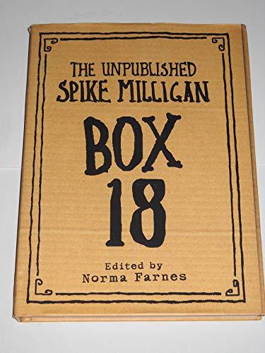 9780007779734: The Unpublished Spike Milligan, Box 18
