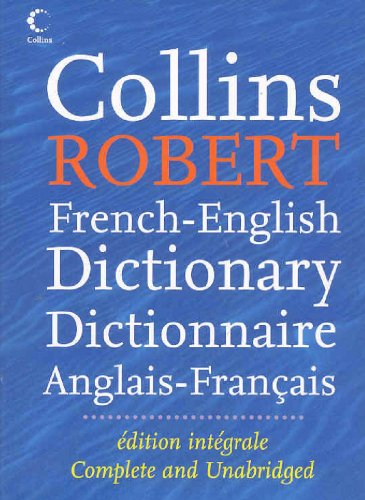 9780007785100: Collins Robert French Dictionary