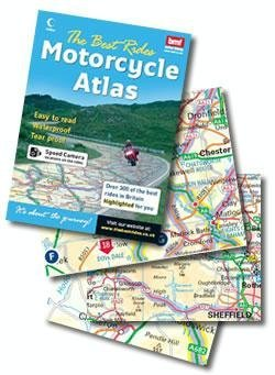 9780007793495: The Best Rides Motorcycle Atlas