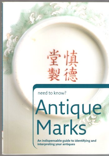9780007793648: Antique Marks (need to know?)