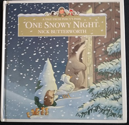 9780007795253: One Snowy Night (Percy the Park Keeper)