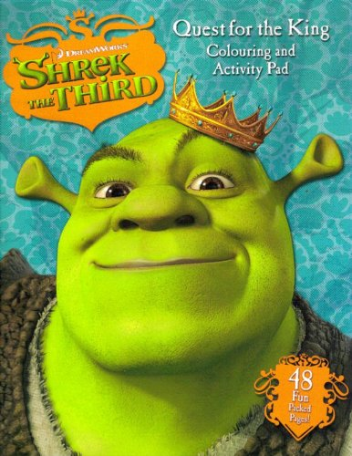 9780007795406: Shrek the Third: Quest for the King Colouring and Activity Pad