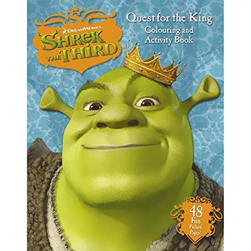 9780007795437: SHREK THE THIRD - COLOURING AND ACTIVITY PAD (QUEST FOR THE KING)