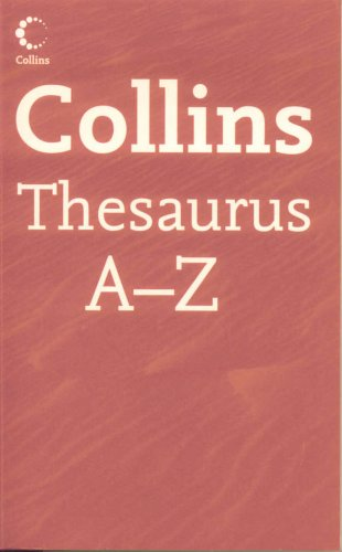 9780007796755: Collins Thesaurus A-Z