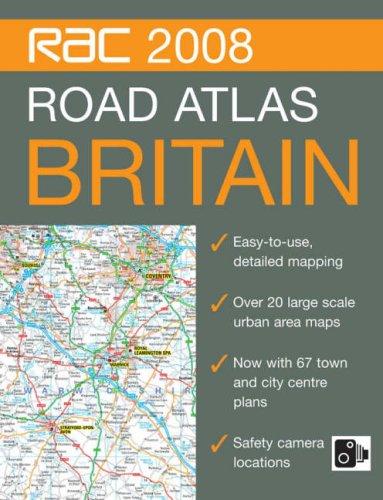 9780007797004: Rac Road Atlas Britain, 2008 (RAC Atlases)