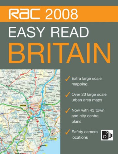 9780007797028: RAC Easy Read Road Atlas Britain (RAC Atlases)