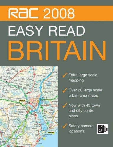 9780007797028: Rac Easy Read Road Atlas Britain, 2008 (RAC Atlases)