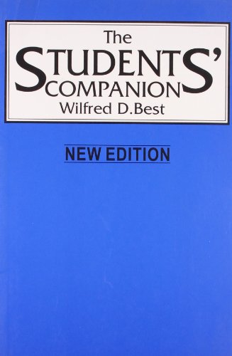 9780007797363: The Students' Companion