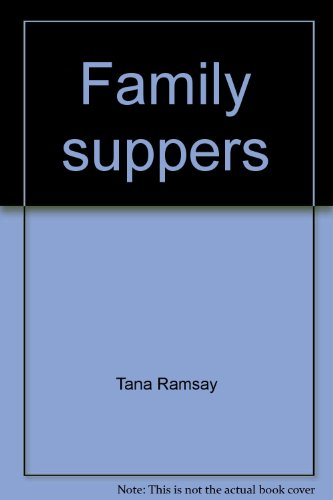 9780007806492: Family suppers