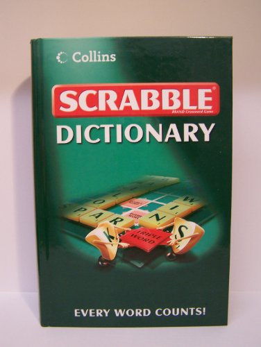 9780007809981: Collins scrabble dictionary