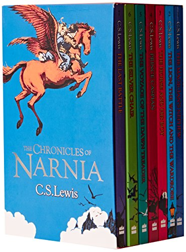 9780007811281: The Chronicles of Narnia 7 Books Box Set Collection C S Lewis Vol 1 to 7