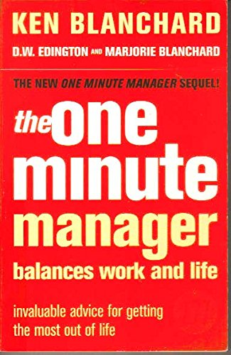 9780007811359: The One Minute Manager Balances Life and Work