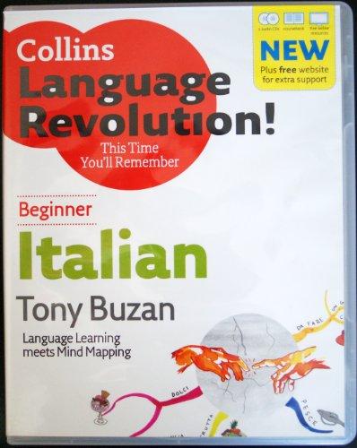 9780007814879: Collins Language Revolution!Italian Beginner - 1 Book & 2 CD's (Paperback)
