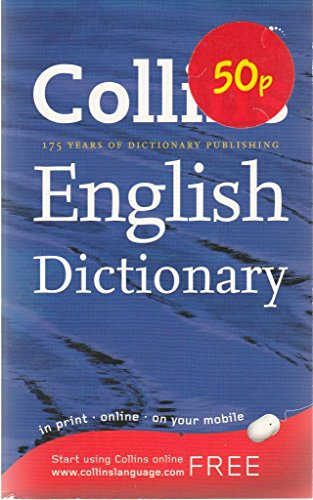 9780007826810: Collins English Dictionary 175 Years Of Dictionary Publishing
