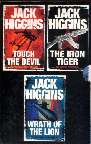 9780007832507: Jack Higgins Box Set: Wrath of the Lion / Iron Tiger / Touch the Devil
