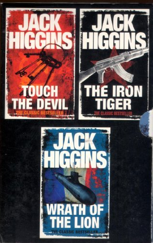 9780007832507: Jack Higgins Box Set: Wrath of the Lion, Iron Tiger, Touch the Devil