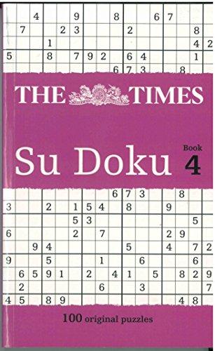 9780007832637: The Times Su Doku: Bk. 4