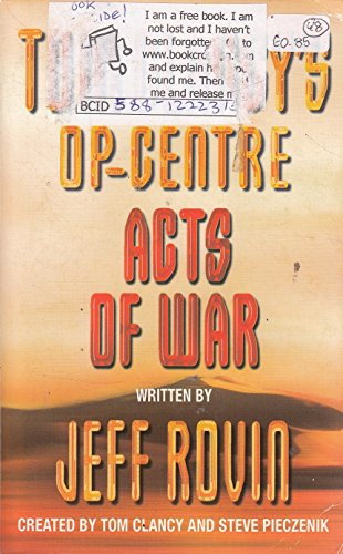 9780007833115: TOM CLANCY'S OP-CENTRE ACTS OF WAR (tom clancy's op-centre)