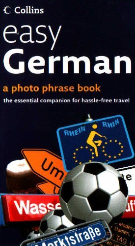9780007840779: easy German (a photo phrase book - the essential companion for hassle-free travel)