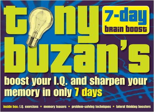 9780007843411: Tony Buzan's 7-day Brain Boost Pack