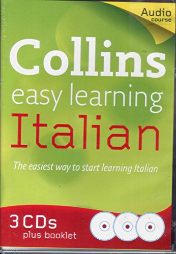 9780007847129: COLLINS EASY LEARNING ITALIAN CD SET (AUDIO X 3 CDS PLUS BOOKLET)