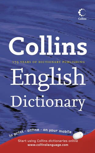 9780007849321: Collins English Dictionary: Home Edition
