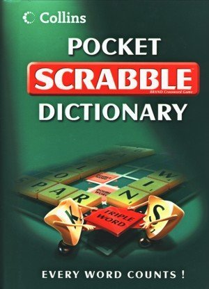9780007852963: Collins Pocket Scrabble Dictionary Hb